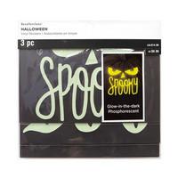 Halloween Vinyl Glow-In-The-Dark Stickers -tarrapakkaus