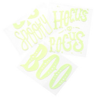 Halloween Vinyl Glow-In-The-Dark Stickers -tarrapakkaus