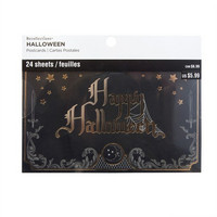 Halloween Postcard Pad: Moonlit Manor