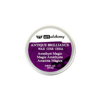 Finnabair Antique Brilliance Wax:  Amethyst Magic 20ml