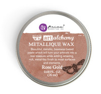 Finnabair Metallique Wax: Rose Gold 20ml