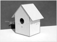 Linnunpönttö 3D -koriste