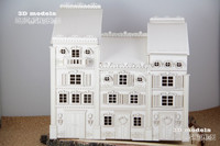 Royal 3D Townhouses - kasattava koriste