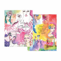 Jane Davenport Washi Sheets: Girls