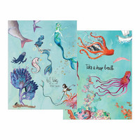 Jane Davenport Washi Sheets: Mermaids