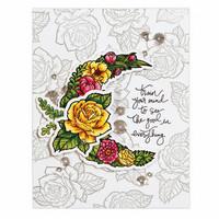 Stamp & Die Set: Moonflower - setti