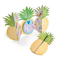 Thinlits Fold-A-Long: Pineapple Card  -stanssisetti