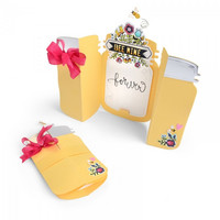 Thinlits Fold-A-Long:  Jar Card  -stanssisetti