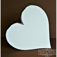 Sydän - korttipohjat 5 kpl