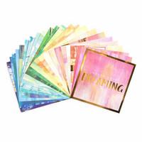 Bold Brushstrokes 12x12 - paperilehtiö