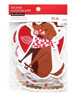 Recollections:  Puppy Love Diecut Stickers -tarrapakkaus