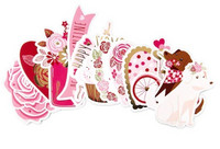 Recollections:  Puppy Love Diecut Stickers -tarrapakkaus