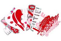 Recollections:  Iridecent Glitter Diecut Stickers -tarrapakkaus
