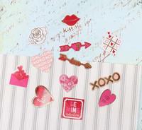 Recollections:  Flaker Diecut Stickers -tarrapakkaus