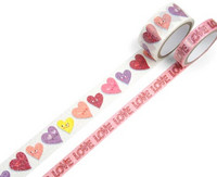 Planner Washi Tape: Convo Hearts  - pakkaus