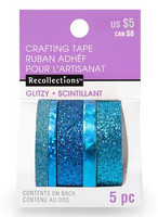 Planner Washi Tape: Glitzy Blues  - pakkaus