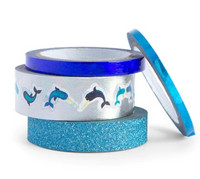 Planner Washi Tape: Glitzy Narwhal - pakkaus