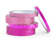 Planner Washi Tape: Glitzy Dark Pinks  - pakkaus