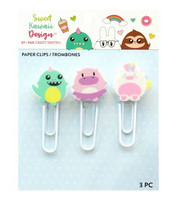 Sweet Kawaii Design Paper Clips  - koristepakkaus