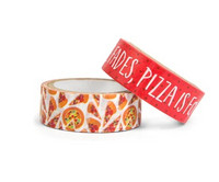 Planner Washi Tape: Skratch & Sniff Pizza  - pakkaus