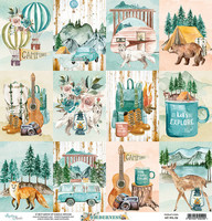 Wilderness Cards 12x12 skräppipaperi