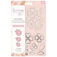 Spring is in the Air Stamps & Dies :  Sweet William