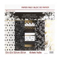 Classic Chic 12x12 - paperilehtiö