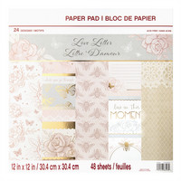 Love Letters 12x12 - paperilehtiö