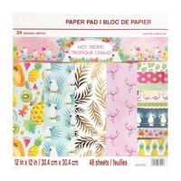 Hot Tropic 12x12 - paperilehtiö