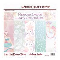 Mermaid Lagoon 12x12 - paperilehtiö