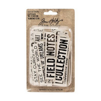 Tim Holtz Idea-ology: Quote Chips