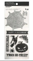 Halloween stamps & dies: Web & Jack-O-Lantern  -setti