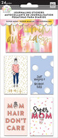 MAMBI The Happy Planner Journaling (flip) Stickers - Super Mom