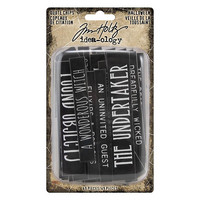Tim Holtz Idea-ology: Quote Chips Halloween