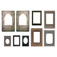 Tim Holtz Idea-ology: Layers & Baseboard Frames Halloween