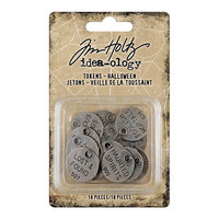 Tim Holtz Idea-ology: Tokens Halloween