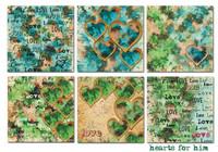 Decorer: Hearts For Him 8x8 - paperikokoelma