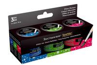 Spectrum Noir Sparkle Glitter Inks: Winter Warmers - mustesetti