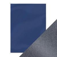 Pearlescent Cardstock A4: Navy Dazzle - helmiäiskartonkipakkaus