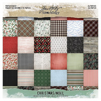 Tim Holtz Mini Stash Christmas 2019 8x8 - paperilehtiö