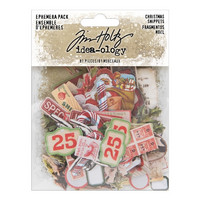 Tim Holtz Idea-ology: Ephemera Snippets Christmas 2019