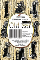 Decorer: Old Car - minipaperisetti