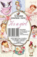 Decorer: It's A Girl - minipaperisetti