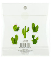 Park Lane Paperie Washi Flakes Stickers: Cactus