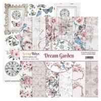 Scrapboys:  Dream Garden 12x12 - paperikokoelma