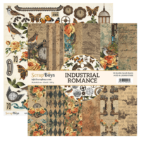 Scrapboys:  Industrial Romance 12x12 - paperikokoelma