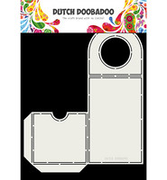 Dutch Doobadoo: Fold Card Bottle Label A4 -sabluuna