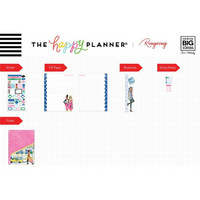 MAMBI Happy Planner Classic Accessories: Rong Rong Hustle Girl  - pakkaus