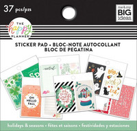 MAMBI Happy Planner Classic Tiny Sticker Pad - Holidays & Seasons