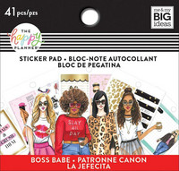 MAMBI Happy Planner Classic Tiny Sticker Pad - Rong Rong Boss Babe